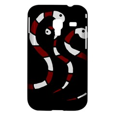 Red snakes Samsung Galaxy Ace Plus S7500 Hardshell Case