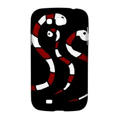 Red snakes Samsung Galaxy Grand GT-I9128 Hardshell Case