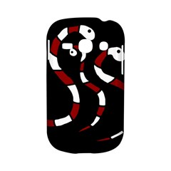 Red snakes Samsung Galaxy S6810 Hardshell Case