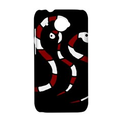 Red snakes HTC Desire 601 Hardshell Case
