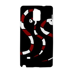 Red Snakes Samsung Galaxy Note 4 Hardshell Case