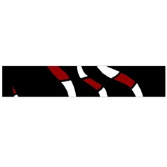 Red snakes Flano Scarf (Large)