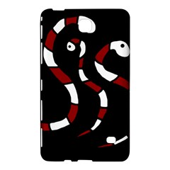 Red snakes Samsung Galaxy Tab 4 (7 ) Hardshell Case