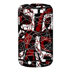 Red black and white abstract high art Samsung Galaxy Express I8730 Hardshell Case