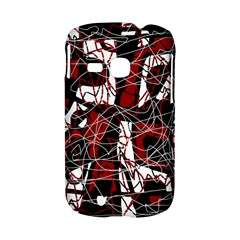Red black and white abstract high art Samsung Galaxy S6310 Hardshell Case