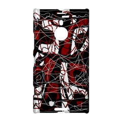 Red black and white abstract high art Nokia Lumia 1520