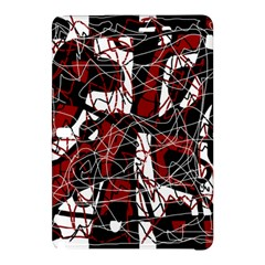 Red black and white abstract high art Samsung Galaxy Tab Pro 10.1 Hardshell Case