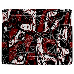 Red Black And White Abstract High Art Jigsaw Puzzle Photo Stand (rectangular)