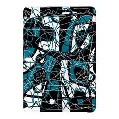 Blue, black and white abstract art Samsung Galaxy Tab Pro 10.1 Hardshell Case