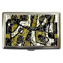 Brown abstract art Cigarette Money Cases