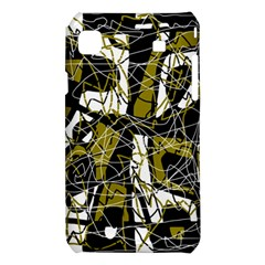Brown abstract art Samsung Galaxy S i9008 Hardshell Case