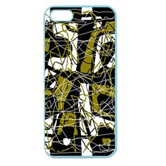 Brown abstract art Apple Seamless iPhone 5 Case (Color)
