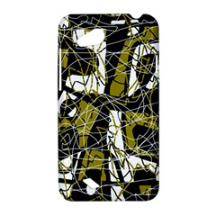 Brown abstract art HTC Desire VC (T328D) Hardshell Case