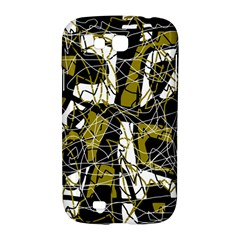 Brown abstract art Samsung Galaxy Grand GT-I9128 Hardshell Case