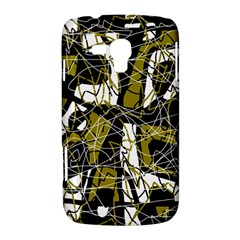 Brown abstract art Samsung Galaxy Duos I8262 Hardshell Case