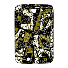 Brown abstract art Samsung Galaxy Note 8.0 N5100 Hardshell Case