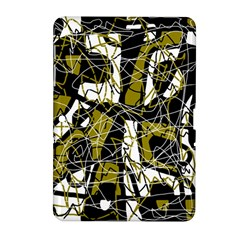 Brown abstract art Samsung Galaxy Tab 2 (10.1 ) P5100 Hardshell Case