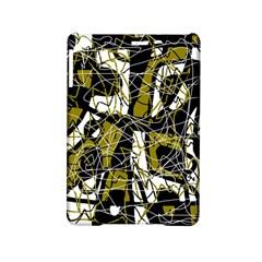 Brown abstract art iPad Mini 2 Hardshell Cases