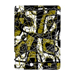Brown abstract art Samsung Galaxy Note 10.1 (P600) Hardshell Case
