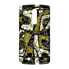 Brown abstract art LG G3 Back Case