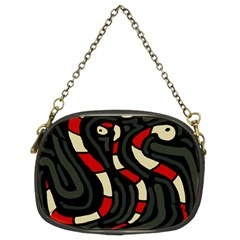 Red snakes Chain Purses (Two Sides)