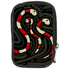 Red snakes Compact Camera Cases