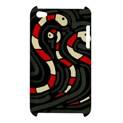 Red snakes Apple iPod Touch 4
