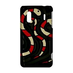 Red snakes HTC Evo Design 4G/ Hero S Hardshell Case