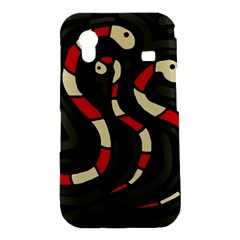 Red snakes Samsung Galaxy Ace S5830 Hardshell Case