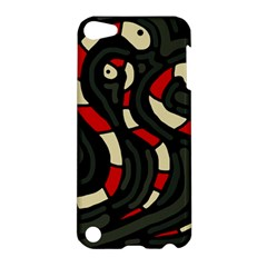 Red snakes Apple iPod Touch 5 Hardshell Case