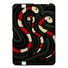 Red snakes Kindle Fire HD 8.9