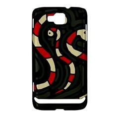 Red snakes Samsung Ativ S i8750 Hardshell Case