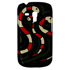 Red snakes Samsung Galaxy S3 MINI I8190 Hardshell Case