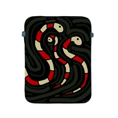 Red snakes Apple iPad 2/3/4 Protective Soft Cases