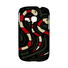 Red snakes Samsung Galaxy S6310 Hardshell Case