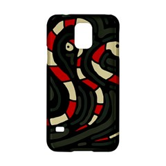 Red snakes Samsung Galaxy S5 Hardshell Case