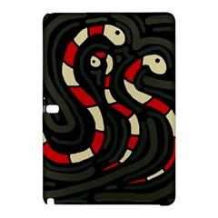 Red snakes Samsung Galaxy Tab Pro 12.2 Hardshell Case