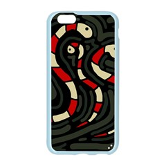 Red snakes Apple Seamless iPhone 6/6S Case (Color)