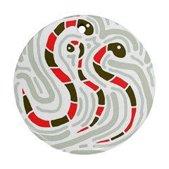 Snakes family Ornament (Round)