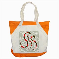 Snakes family Accent Tote Bag