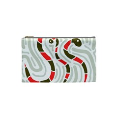 Snakes family Cosmetic Bag (Small)