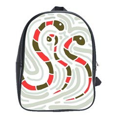 Snakes family School Bags(Large)