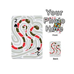 Snakes family Playing Cards 54 (Mini)
