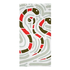 Snakes family Shower Curtain 36  x 72  (Stall)