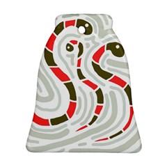 Snakes family Ornament (Bell)