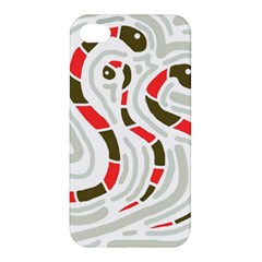 Snakes family Apple iPhone 4/4S Premium Hardshell Case
