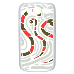 Snakes family Samsung Galaxy S III Case (White)