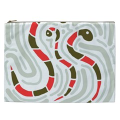 Snakes family Cosmetic Bag (XXL)