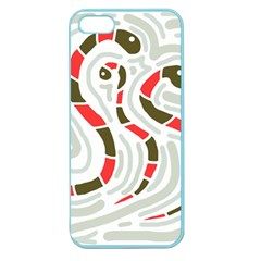 Snakes family Apple Seamless iPhone 5 Case (Color)