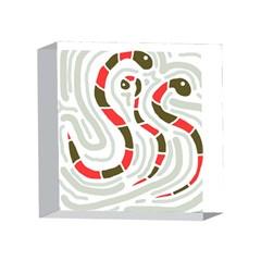 Snakes family 4 x 4  Acrylic Photo Blocks